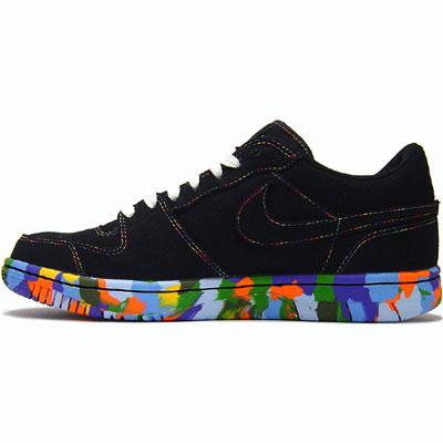 APrduotuvė girl toop Nike_courtforce_low_black_2