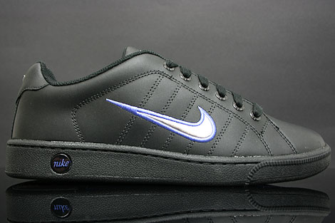 Nike Court Tradition 2 Black Silver Medium Blue