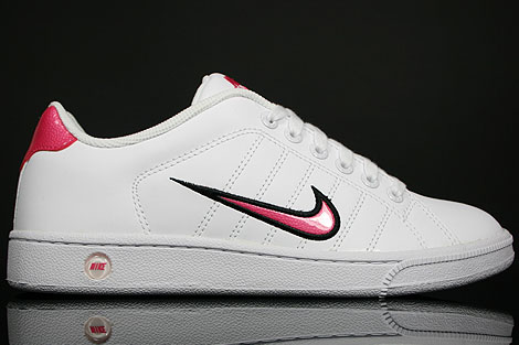 Nike WMNS Court Tradition 2 Weiss Schwarz Rosa