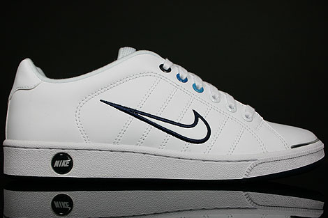 Nike Court Tradition 2 Weiss Dunkelblau Blau