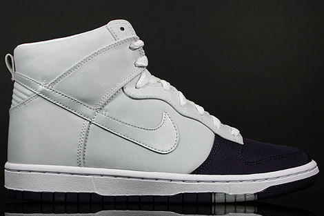Nike Dunk Hi WMNS Skinny Grand Purple Platinum Right