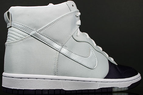 Nike Dunk Hi WMNS Skinny Grand Purple Platinum Over view