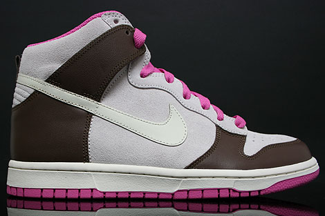 Nike Dunk Hi WMNS White Chocolate Pink