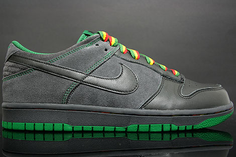 Nike Dunk Low CL Black Pine Green
