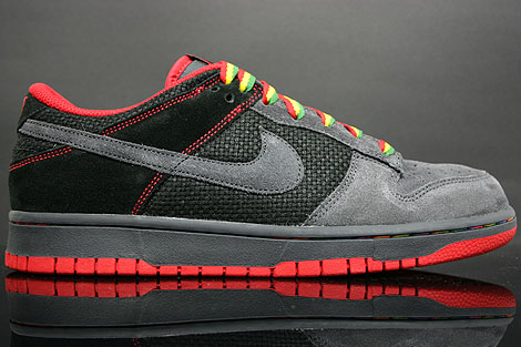 Nike Dunk Low CL Black Varsity Red