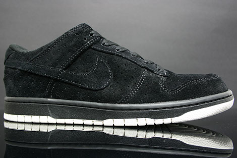 Nike Dunk Low Premium Black Sail Profile