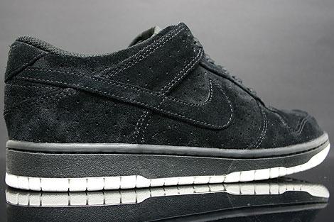 Nike Dunk Low Premium Schwarz Weiss Innenseite