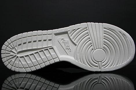 Nike Dunk Low Premium Schwarz Weiss Rueckansicht