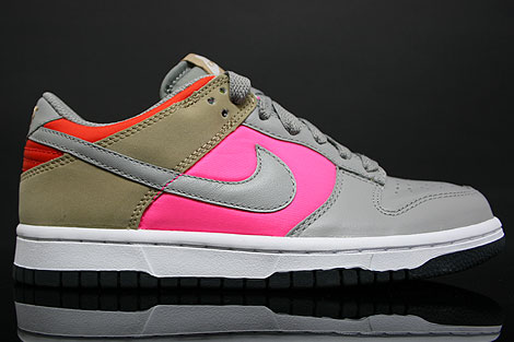 Nike Dunk Low WMNS Grey Beige Pink