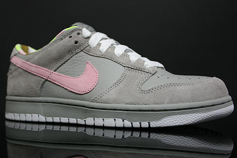 Nike Dunk Low WMNS CL Grey Pink White Profile