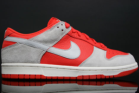 Nike Dunk Low CL Orange Grey Right