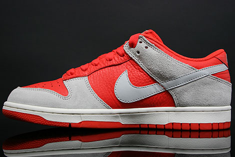 Nike Dunk Low CL Orange Grau Innenseite