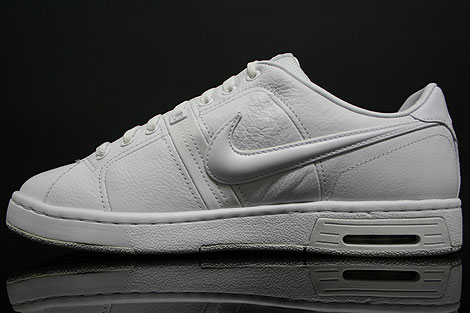 Nike Air Gravel Court Weiss Seitendetail