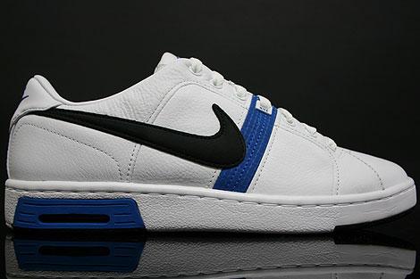 Nike Air Gravel Court Weiss Schwarz Blau
