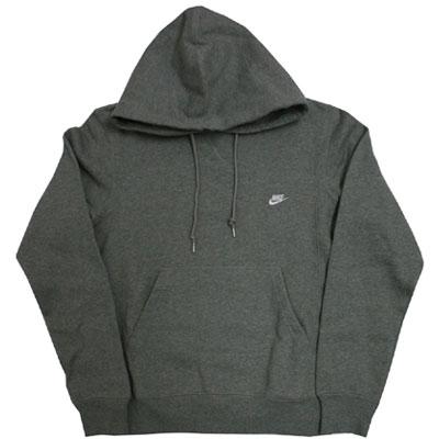 Nike Johnson Hoody Brushed Grau