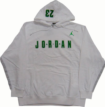 Nike Jordan Hoody White Green