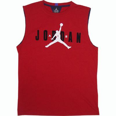 Nike Jordan Sleeveless Tee Red
