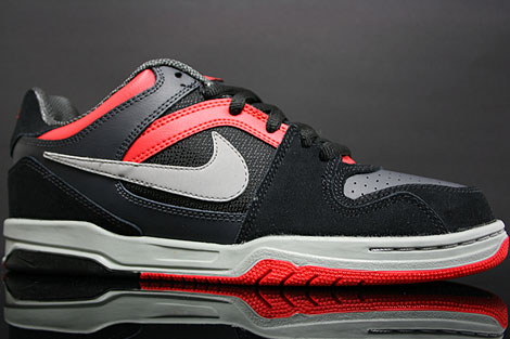 Nike Zoom Oncore Black Grey Anthracite Red Profile