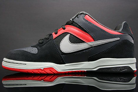 Nike Zoom Oncore Black Grey Anthracite Red Inside