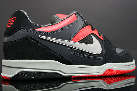 Nike Zoom Oncore Black Grey Anthracite Red Back view