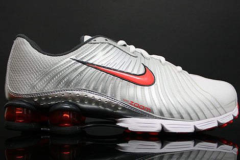 Nike Shox Experience + Silver Orange