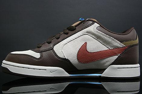 Nike Skeet Granit Braun Seitendetail