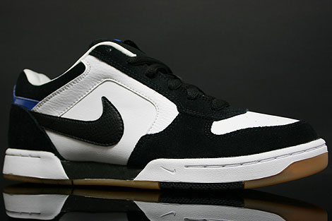 Nike Skeet White Black Italy Blue Profile
