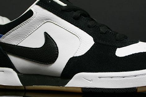 Nike Skeet White Black Italy Blue Sidedetails