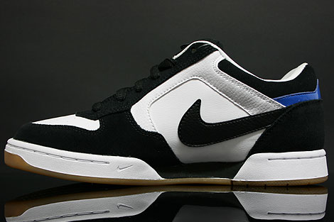 Nike Skeet White Black Italy Blue Inside