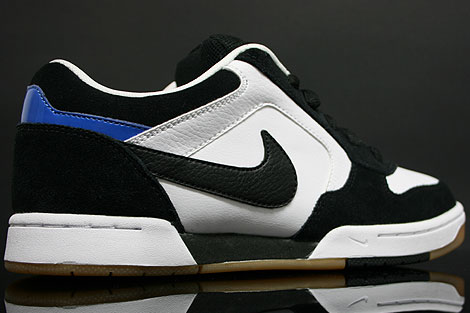 Nike Skeet White Black Italy Blue Back view