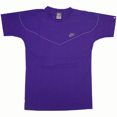 Nike SS Tee Varsity Purple Stealth Right