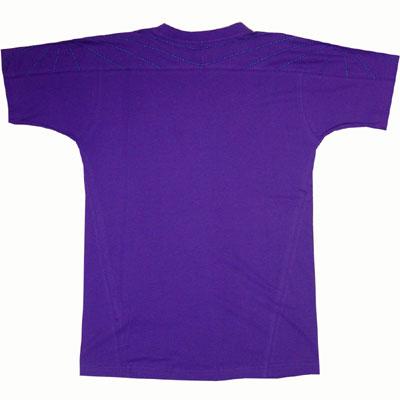 Nike SS Tee Varsity Purple Stealth Sidedetails