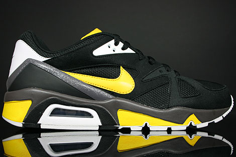 4820b077f275 Nike Air Structure Triax 91 Black Varsity Maize White Fog 318088-071 ...