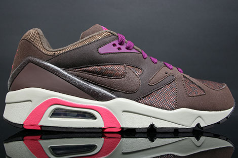 Nike Air Structure Triax 91 Braun Brombeere
