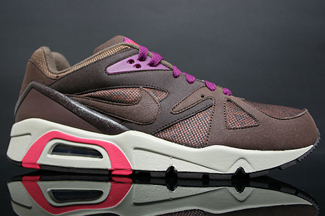 Nike Air Structure Triax 91 Dark Oak Mulberry Profile