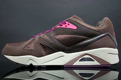 Nike Air Structure Triax 91 Dark Oak Mulberry Sidedetails