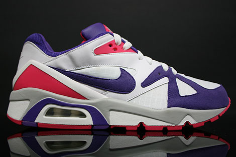 Nike Air Structure Triax 91 White Purple Berry
