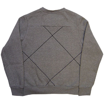 Nike Challenge Crew Sweater Grey Profile