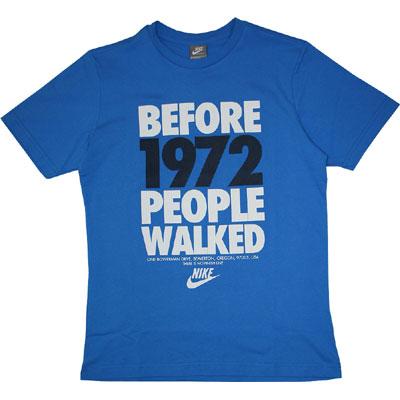 Nike People Walked Tee Photo Blue
