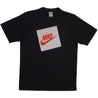 nike logo. Nike Block Logo Tee quot;Blackquot;