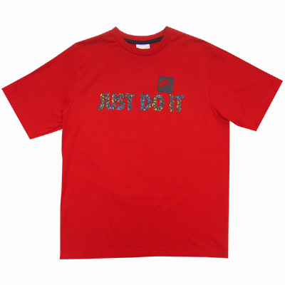 Nike T-Shirt  Red Right