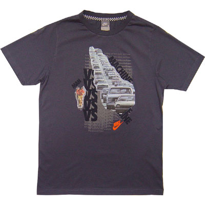 Nike Man Vs. Machine Tee Grey