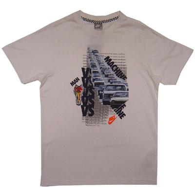 Nike Man Vs. Machine Tee White