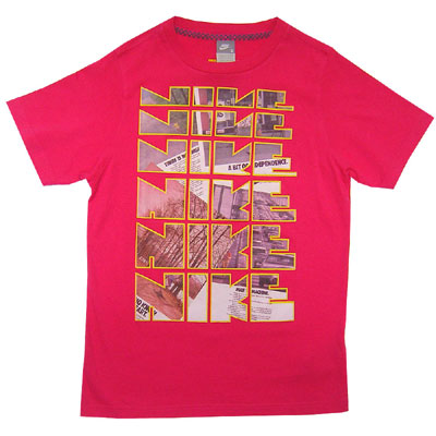 Nike Modified Block Tee Pink