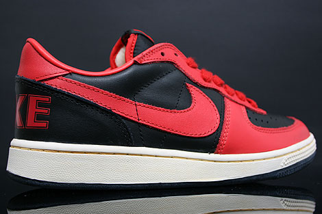 Nike Terminator Low Vintage Black Red Inside