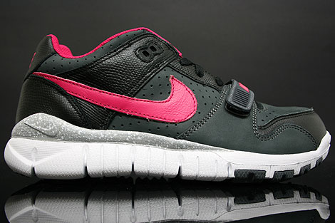Nike Trainer Dunk Low Anthracite Cerise