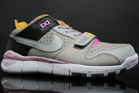 Nike Trainer Dunk Low Medium Grey Black Seitenansicht