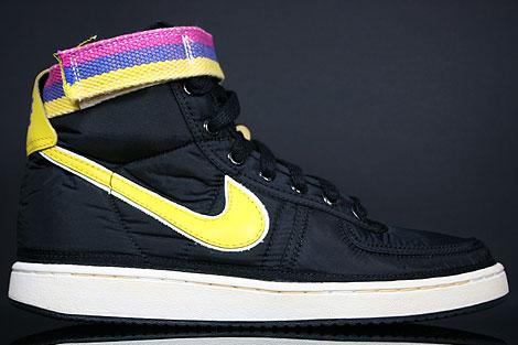 Nike Vandal Hi Supreme Black Midwest Gold Sail