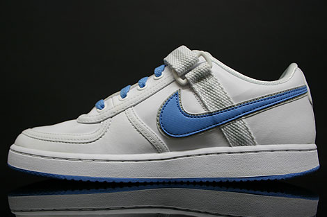 Nike Vandal Low WMNS White University Blue Sidedetails