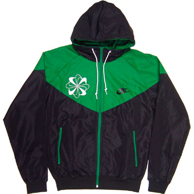 Nike Original Windrunner Pinwheel Green Right